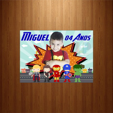 Lembrancinha vingadores/ Avengers - Imã