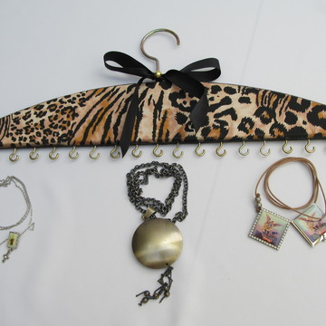 Cabide para colares e pulseiras - Safari
