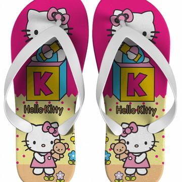 Chinelo Hello Kitty Personalizado