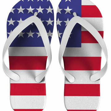 Chinelo Estados Unidos Personalizado