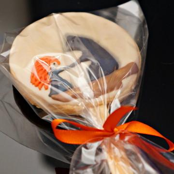 Pirulito de Biscoito Decorado- Valente