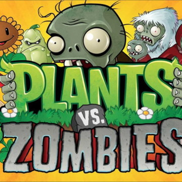 Painel Plantas vs Zumbis - Frete Grátis
