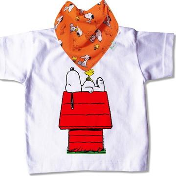 4ad9e64188 Snoopy Casinha Camiseta+ bandana