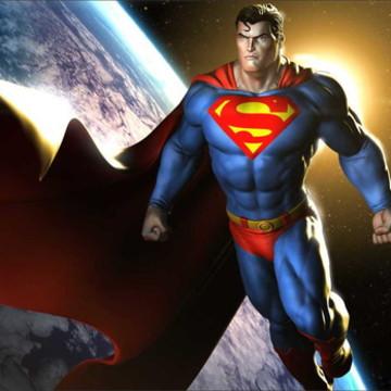 Painel Super homem 3D G - Frete Grátis