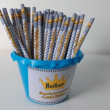 Lápis Personalizado com Cachepô