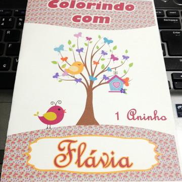 Passarinhos - Livro de colorir