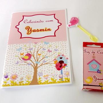 Festa passarinho - Livro de colorir