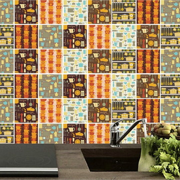 Adesivo cozinha Azulejos decorativo 28