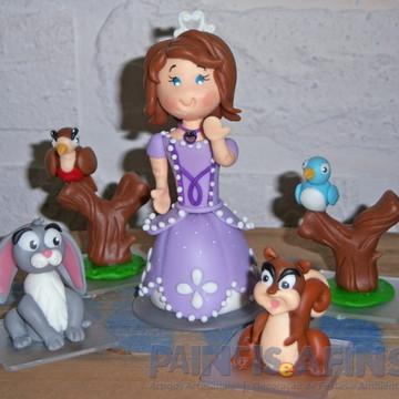 Princesinha Sofia - Personagem Biscuit