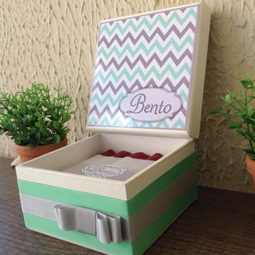Mini Caixa de Charutos Chocolate Chevron