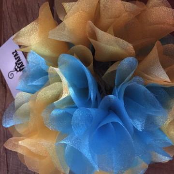 Luzinhas decorativas azul turquesa e dou