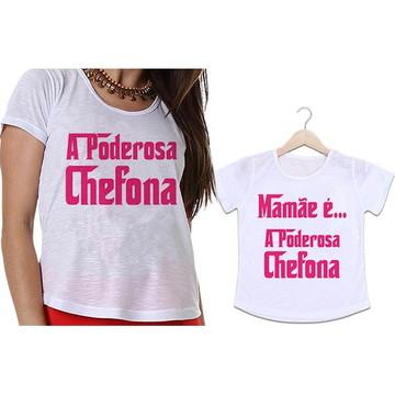 Camisetas Mãe e Filha A Poderosa