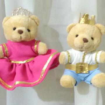 Prendedor gêmeos casal príncipes
