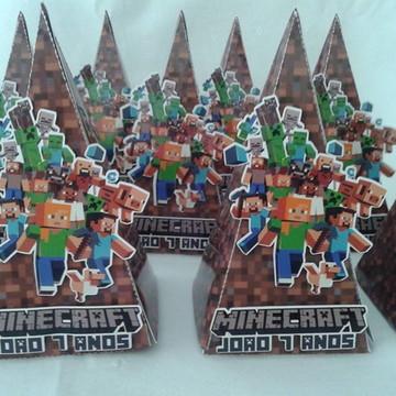 Caixa Pirâmide Minicraft