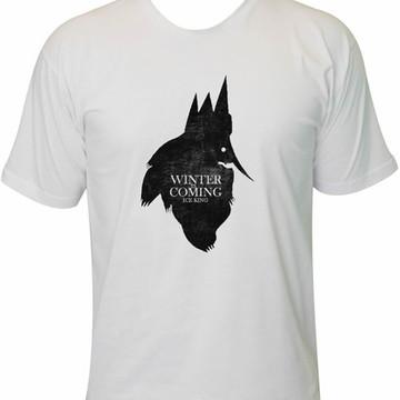 Camiseta ice king - rei gelado