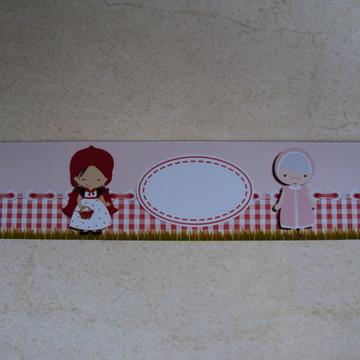 Rotulo Chapeuzinho Vermelho 0549
