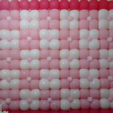 Painel de Balões Florzinhas