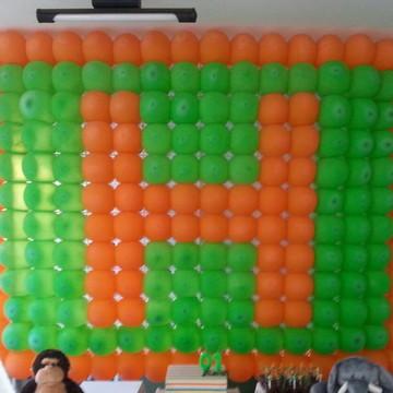 Painel de Balões em cores