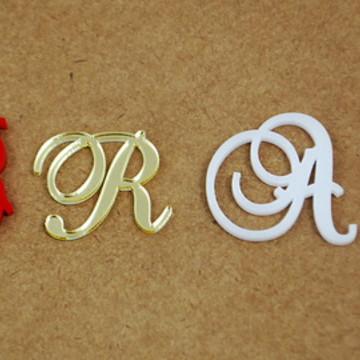 Letras em acrílico para decoração