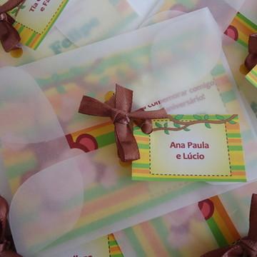 Convite Macaquinho / Selva