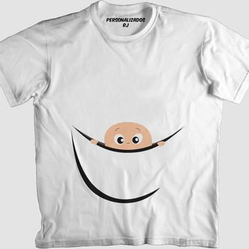 Camisa BEBÊ ESPIANDO