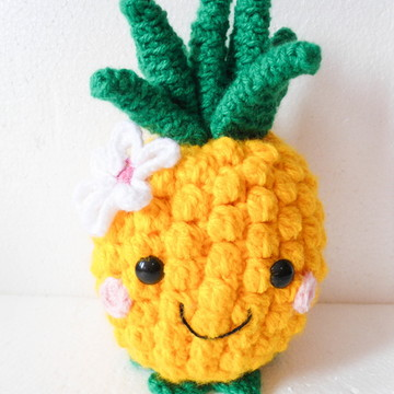 Amigurumi Abacaxi (Pineapple Gurumi)