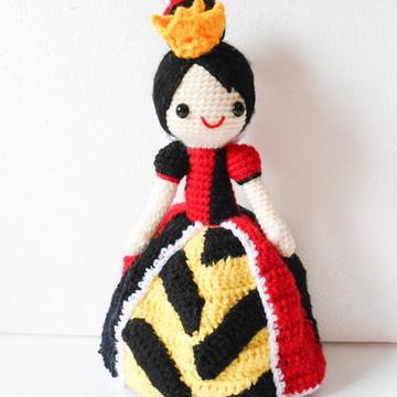 Amigurumi Rainha de Copas (Queen Gurumi)
