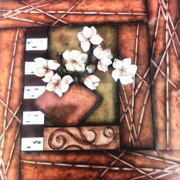 Quadro arte francesa Flores
