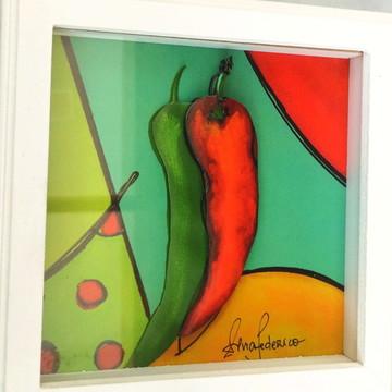 Quadro arte francesa pimenta