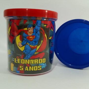 Super Homem Lembrancinha Caneca Acrílica