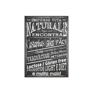 Chalkboard para lojas produtos naturais
