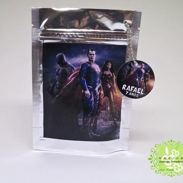 Saquinho Metalizado Batman Vs Superman