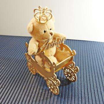carruagem com urso