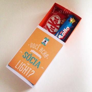 Caixa para Chocolate - Dia das Mães
