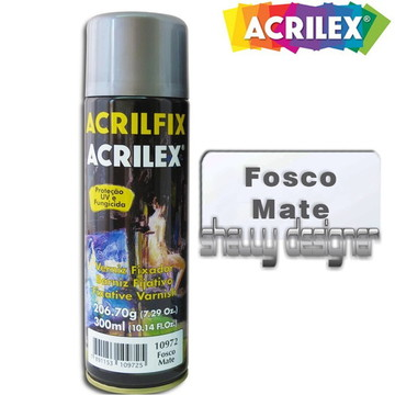 SPRAY VERNIZ ACRILFIX ACRILEX MATE
