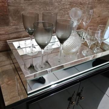 Bandeja Espelho Liso 44 x 64 cm
