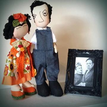 Casal Frida e Diego Rivera