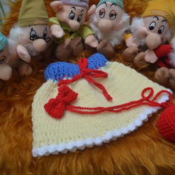 roupa Branca de Neve para newborn