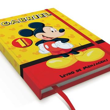 Caderno De Anotações Mickey A5 Personalizado