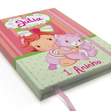 Caderno Moranguinho Baby A5 Personalizado