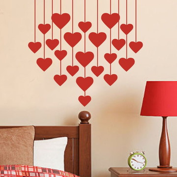 Adesivo para Cabeceira de cama romantico