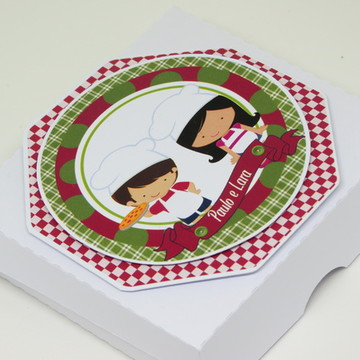 Mini Caixinhas de Pizza