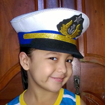 Quepe da Marinha em E.v.a e Feltro