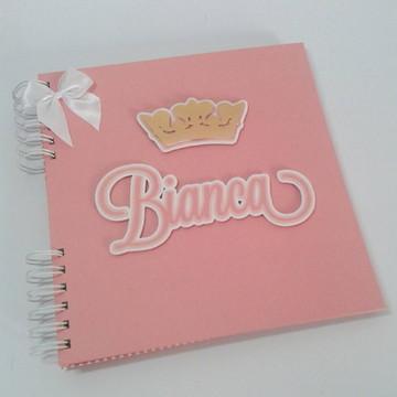 Livro do Bebê Coroa Princesa