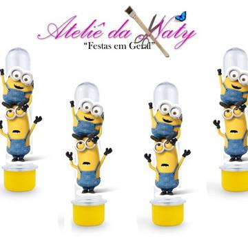 Tubetes Personalizado - #Minions#