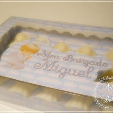 Lembrancinha maternidade caixa sabonete