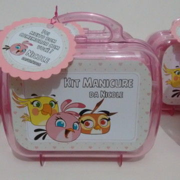 Maletinha Personalizada Angry Birds
