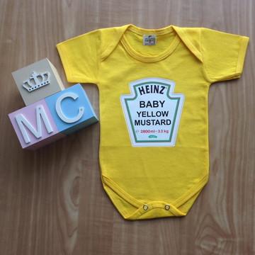 Body Baby YELLOW MUSTARD HEINZ