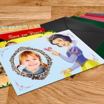 Convites personalizados impressos