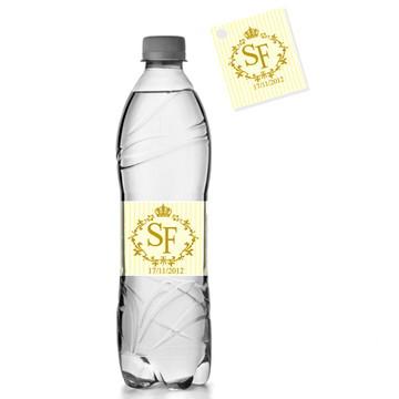 Rótulo Água + Tag Lembrancinha - digital